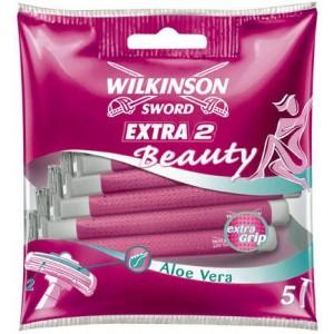 WILKINSON Extra2 Beauty vienreizējas lietošanas skuvekļi, 5gb.
