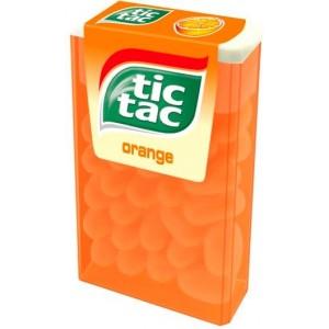 TIC TAC ORANGE dražejas apelsīnu 49g
