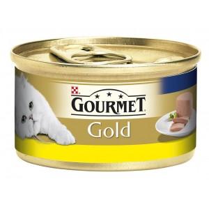 GOURMET GOLD kaķu konservs pastēte (vista) 85g
