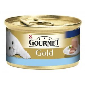 GOURMET GOLD kaķu konservs pastēte (tuncis) 85g