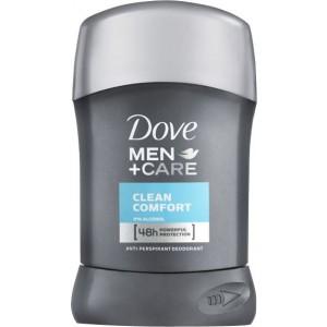 DOVE MEN CLEAN COMFORT stick, 50ml