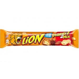 LION Peanut 2 Pack šokolādes batoniņš, 60g