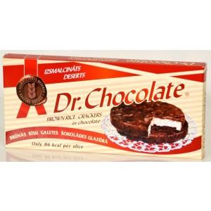 DR. CHOCOLATE Galetes rīsu šokolādes glazūrā, 42g