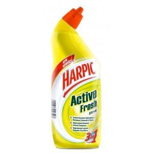 HARPIC wc tīrīšanas līdzeklis LEMON active gel 750ml