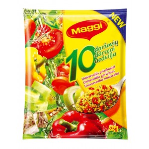 """MAGGI Universālā garšviela """"10 dārzeņi"""", 75g"""