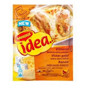 """MAGGI Ideja """"Vistas gaļai četru sieru mērcē"""" 32g"""