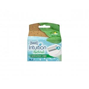 WILKINSON INTUITION Naturals kārtridži 3gb.