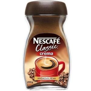 NESCAFE Classic Crema šķīstošā kafija (stikls), 100g