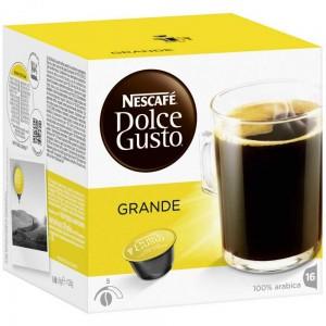 NESCAFE Dolce Gusto kafija Cafe Grande Aroma, 128g