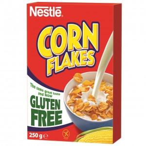 NESTLE brokastu pārslas bezglutēna CORN FLAKES 250g