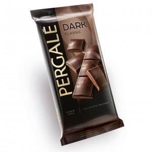 PERGALE tumšā šokolāde 100g