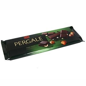 PERGALE tumšā šokolāde ar lazdu riekstiem 250g