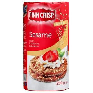 FINN CRISP sausmaizītes apaļās Sesame 250g