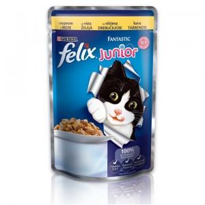 FELIX Fantastic kaķu konservs JUNIOR (vista) 100g