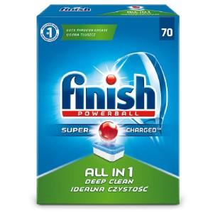 FINISH ALL in 1 tabletes trauku mazgāšanas automātiem 70gab