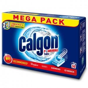 CALGON ūdens mīkstinātājs, tabletes 30gab