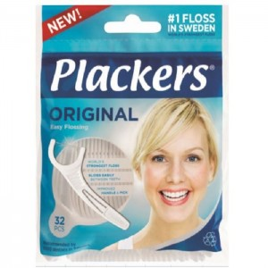PLACKERS zobu diegs uz kātiņa Original