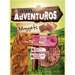 ADVENTUROS Nuggets suņu gardumi (gabaliņi) 90g