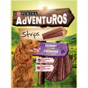 ADVENTUROS Strips suņu gardumi (strēmeles) 90g