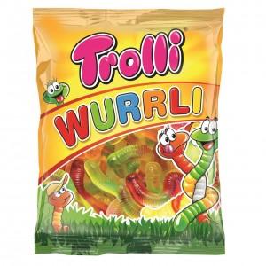TROLLI želejkonfektes Wurrli, 100g