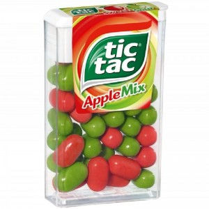 TIC TAC APPLE MIX dražejas 18g