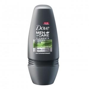 DOVE MEN+CARE roll-on dezodorants vīriešiem MINERAL&SAGE 50ml