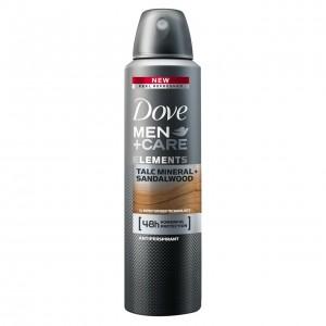 DOVE MEN+CARE izsmidzināms dezodorants vīriešiem MINERAL&SANDALWOOD 150ml