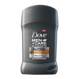 DOVE MEN+CARE sausais dezodorants vīriešiem MINERAL&SANDALWOOD 50ml