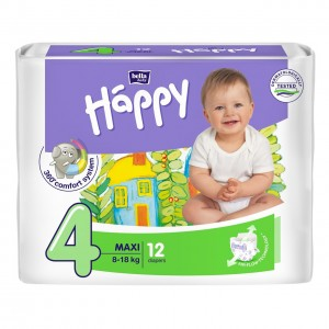 BELLA Baby Happy MAXI autiņbiksītes 12gb