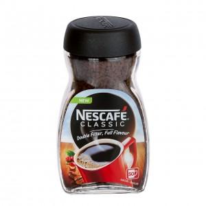 NESCAFE Classic šķīstošā kafija (stikls), 100g