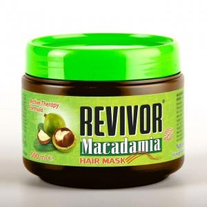REVIVOR Macadamia matu maska, 500ml