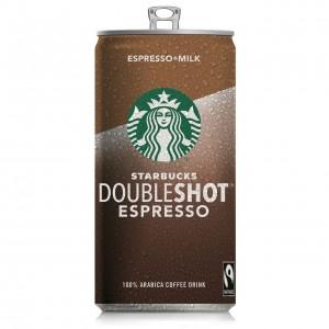 STARBUCKS piena-kafijas dzēriens Doubleshot espresso, 200ml