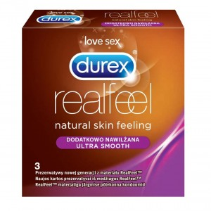 DUREX prezervatīvi Real Feel N3