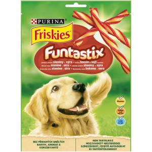FRISKIES FUNTASTIX suņu gardums, 175g