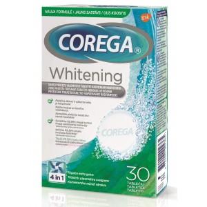 COREGA protēžu tīrīšanas tabletes Dental White 30gab.
