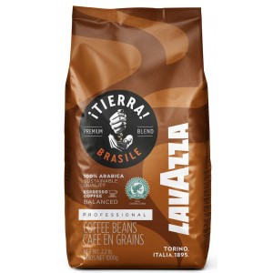 LAVAZZA Tierra Origins Brazil 100% arabika pupiņas, 1000g