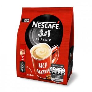NESCAFE Classic 3in1 šķīstošā kafija (20x16.5g), 330g