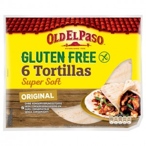 OLD EL PASO bezglutēna tortilijas plāksnes, 216g