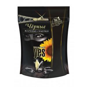 Y.E.S. grauzdētas saulespuķu sēklas (melnas),150g