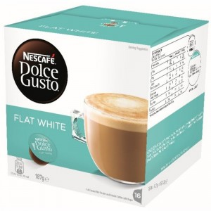 NESCAFE Dolce Gusto kafija Flat White, 187.2g