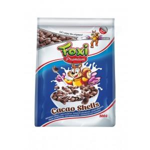 FOXI PREMIUM sausās brokastis-kakao gliemežvāciņi, 500g