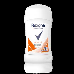REXONA Workout stick dezodorants sievietēm, 40ml
