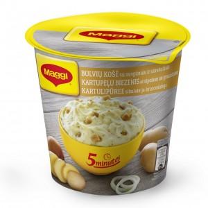 MAGGI 5min. kartupeļu biezenis ar sīpoliem un grauzdiņiem, 59g