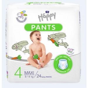 Happy Pants Maxi (8-14kg) 24gb biksītes, 4izm.