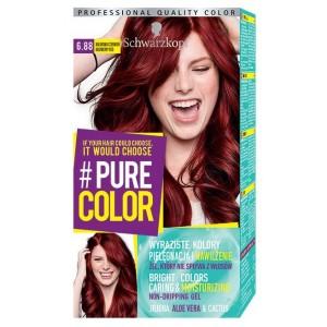 #PURE COLOR matu krāsa 6.88 Aveņu sarkans