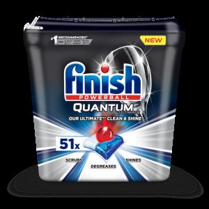 FINISH Quantum Ultimate tabletes trauku mazgāšanas automātiem 51gab