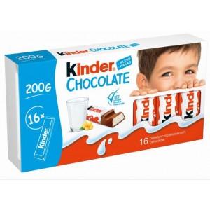 KINDER CHOCOLATE piena šokolāde bērniem, 200g