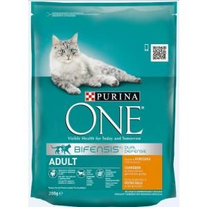 ONE kaķu sausā barība (vista, rīsi) 200g