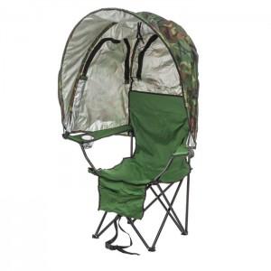 Krēsls kempinga ar jumtu Atom Outdoors ūdensizturīgs