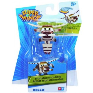 SUPER WINGS Transformers Bello (6,5 cm)